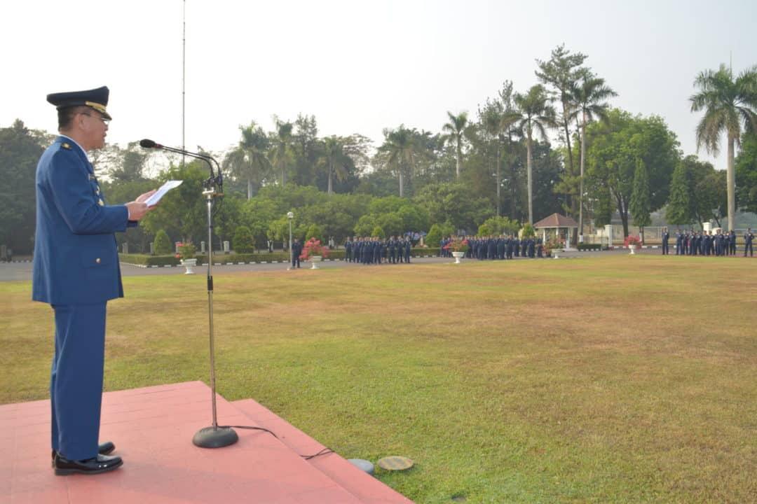 Kohanudas Laksanakan Upacara Peringatan Ke-72 Hari Bakti Tni Au
