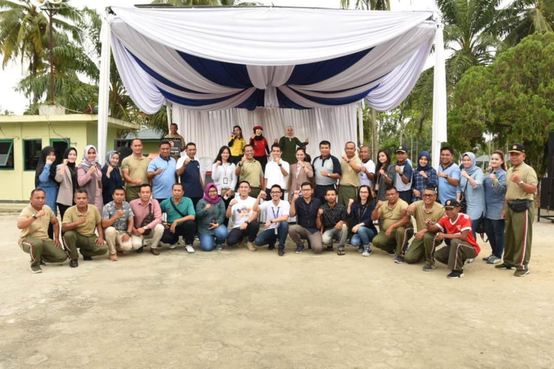 Olahraga Bersama Trimatra TNI di Provinsi Lampung