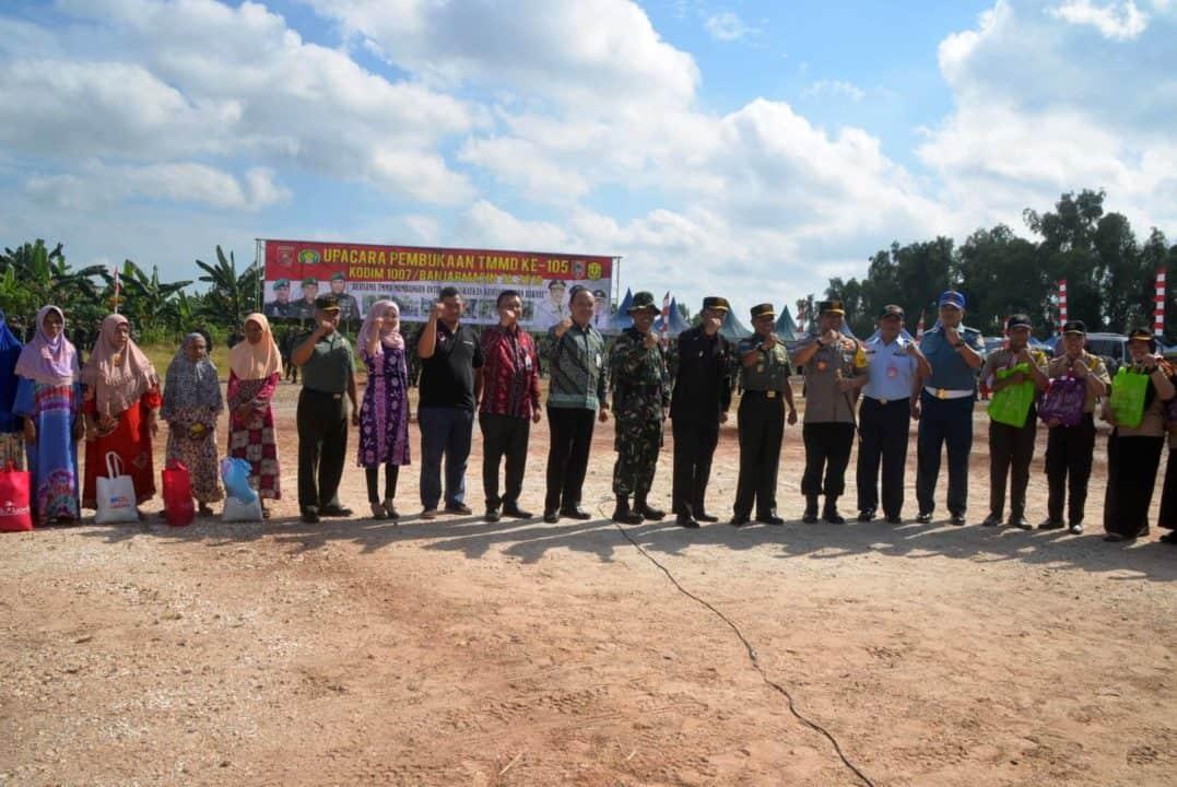 Pembukaan Tmmd Ke-105 Tahun 2019 Kalimantan Selatan
