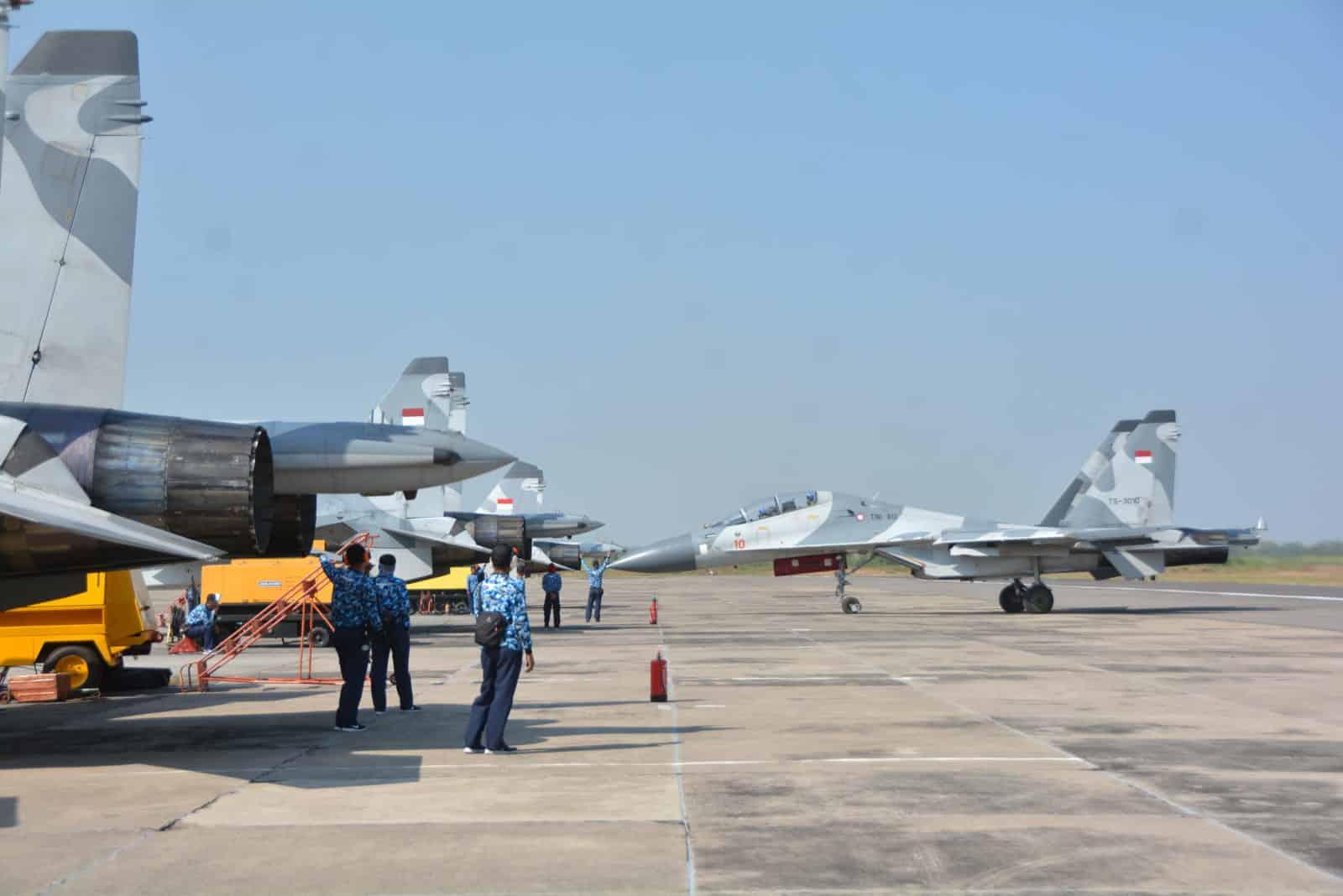"""51 Pesawat Tempur Di Libatkan Dalam Latihan """"mission Oriented Training"""" (mot)"""