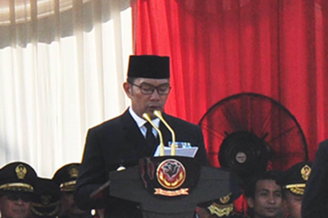 Prajurit Mako Korpaskhas Ikuti Upacara Hut Bhayangkara Ke-73
