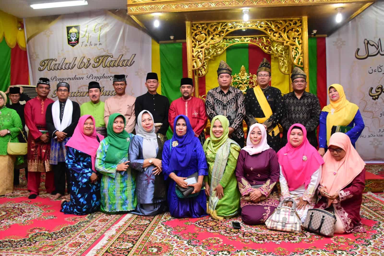 Kapen Lanud Rsn Hadiri Halal Bihalal Bersempena Milad Lam Ke-49 Prov.riau