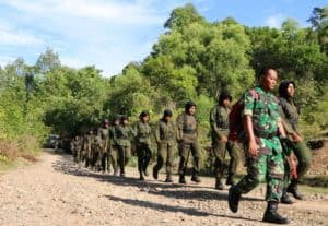 Lanud Sim Kenalkan Hanmars Kepada Menwa Mahadasa Aceh