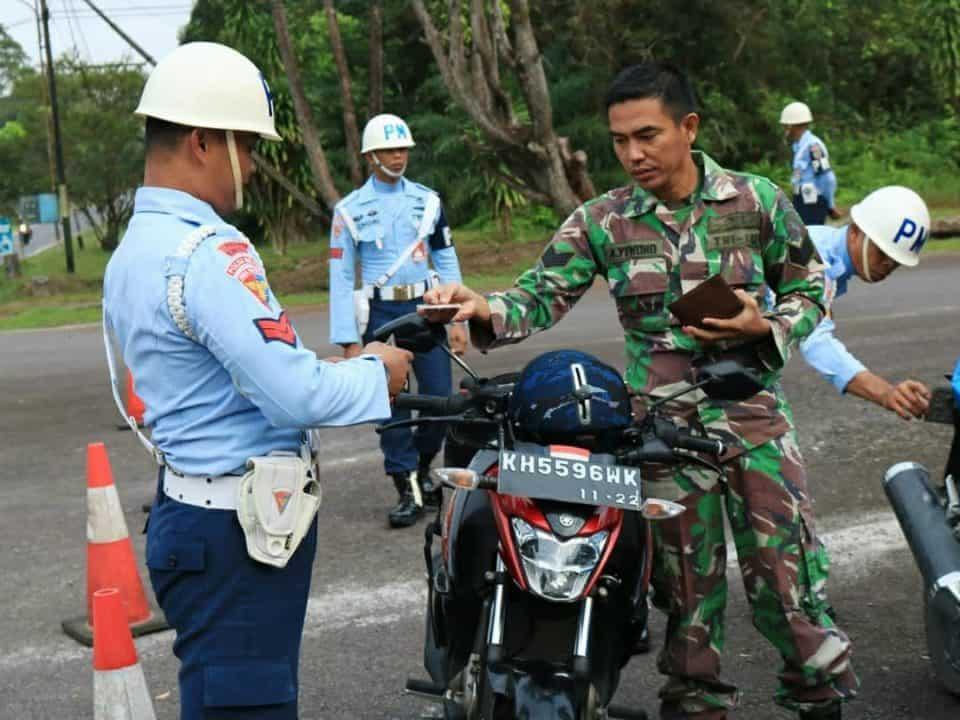 Satpomau Lanud Iskandar Laksanakan Operasi Gaktibplin