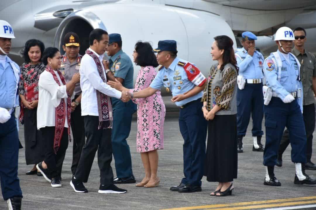 Kunjungan RI 1 Ke Provinsi Sulawesi Utara.
