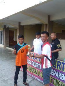 Ssb Tunas Garuda U-14 Binaan Lanud Maimun Saleh Kembali Mengukir Prestasi Dengan Meraih Juara 3 Dan Di Nobatkan Sebagai Team Favorit Piala Kemenpora U-14 Regional Aceh