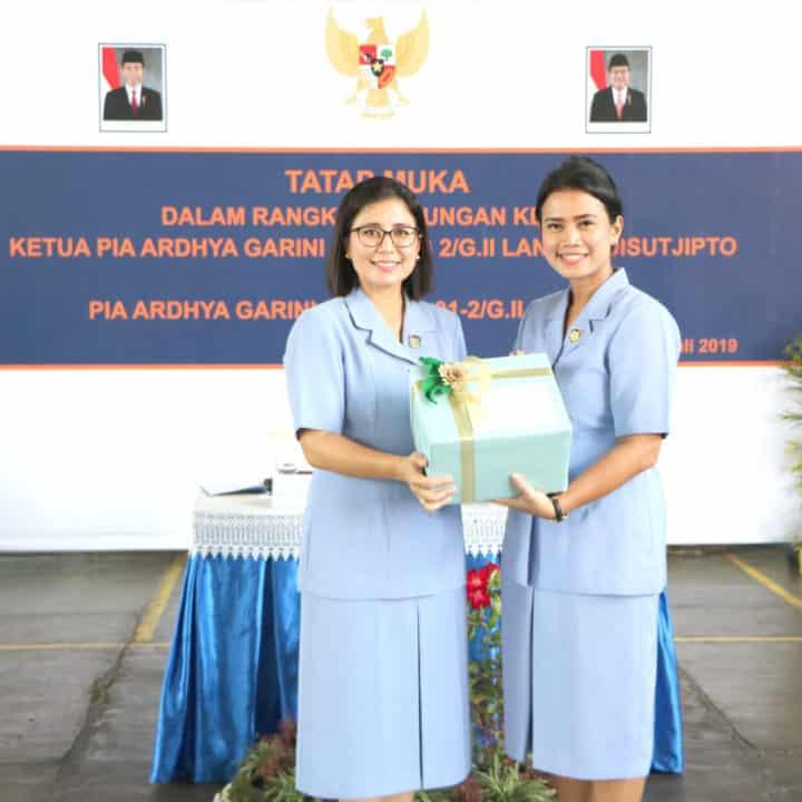 Kunjungan Kerja Ketua Pia Cab 2/gab Ii Ke Pia Ranting Skadik 101 Dan Skadik 102