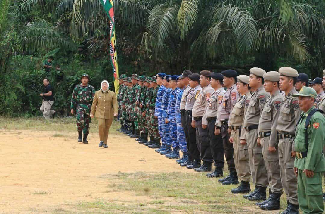 Komandan Lanud Iskandar Hadiri Upacara Pembukaan Tmmd