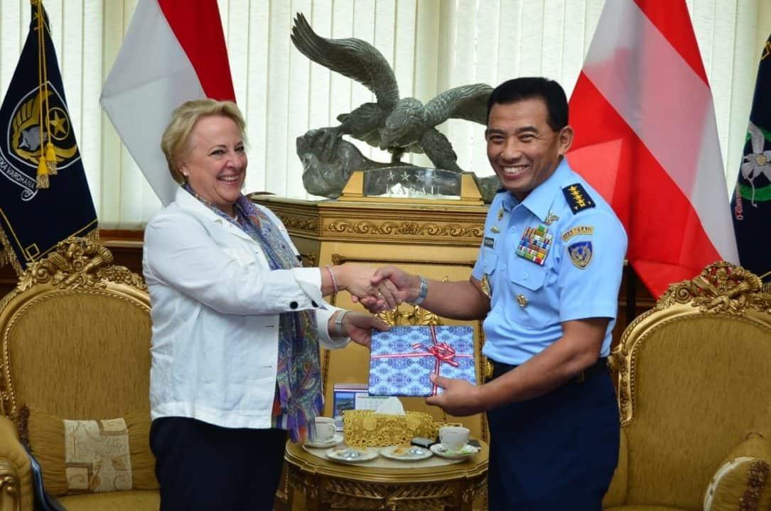 Pemerintah Austria Akan Beri Bantuan Peralatan Kesehatan Untuk Tni Au