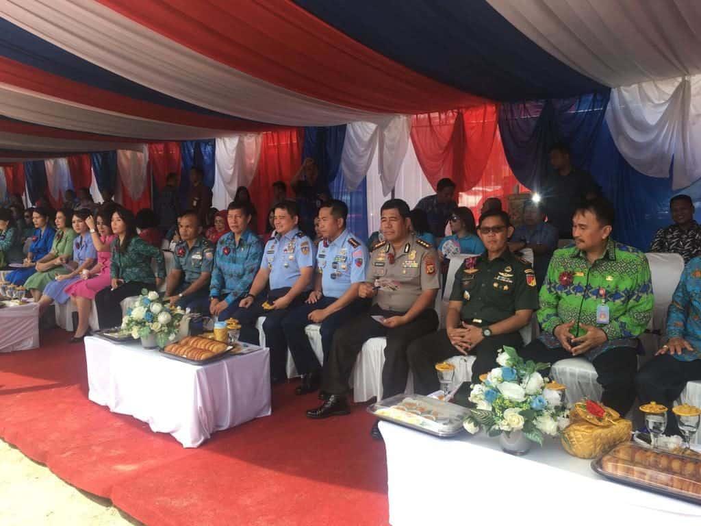 Danlanudsri Beserta Ketua Pia Ag. Hadiri Verifikasi Lomba Tes Iva Tingkat Nasional Di Kota Manado