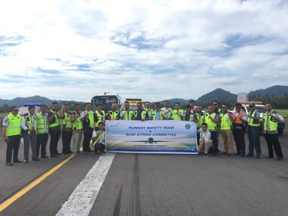 Ringkasan Kegiatan Runway Safety Team Bird Strike Committee