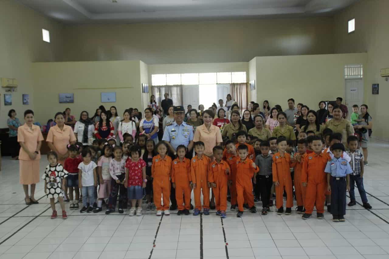 Acara Penerimaan Siswa Baru Tk Angkasa Lanud Sam Ratulangi Manado