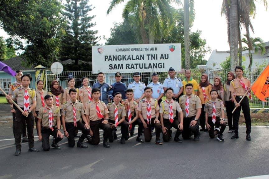 Pembekalan Saka Dirgantara Dalam Rangka Penerimaan Anggota Saka Yang Baru Di Lanud Sam Ratulangi