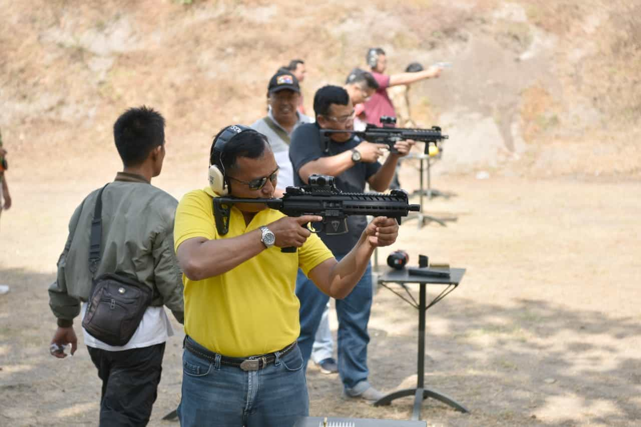 Latihan Menembak Executive Pejabat Lanud Adisutjipto, Jupiter Shooting Club (jsc) Bersama Perbakin Diy
