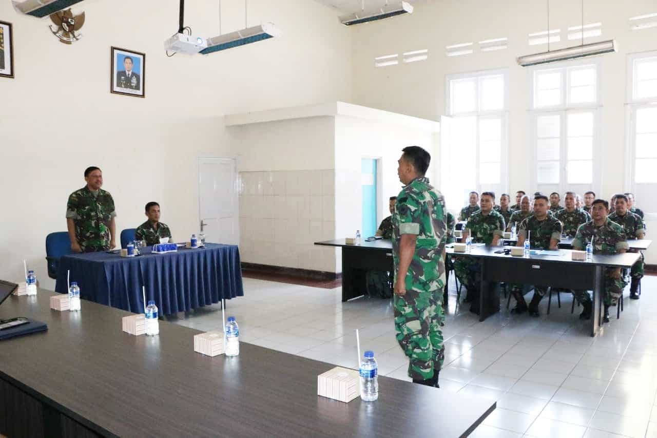 Kolonel Tek Iman Gozali, S.e. Buka Pokja Sun/rev Hanjar Di Wingdiktek