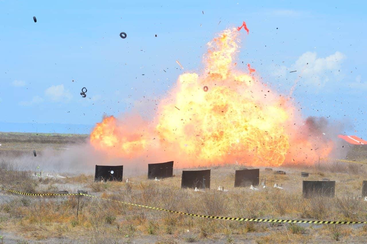 Fire Power Demo 99% Target Berhasil Dihancurkan Pesawat Tempur TNI AU