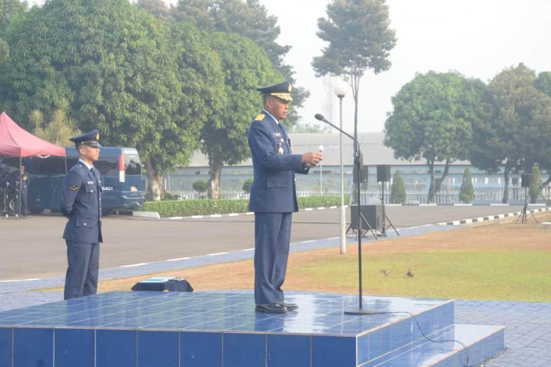 Peringatan Ke-72 Hari Bakti Tni Angkatan Udara Di Makoopsau I