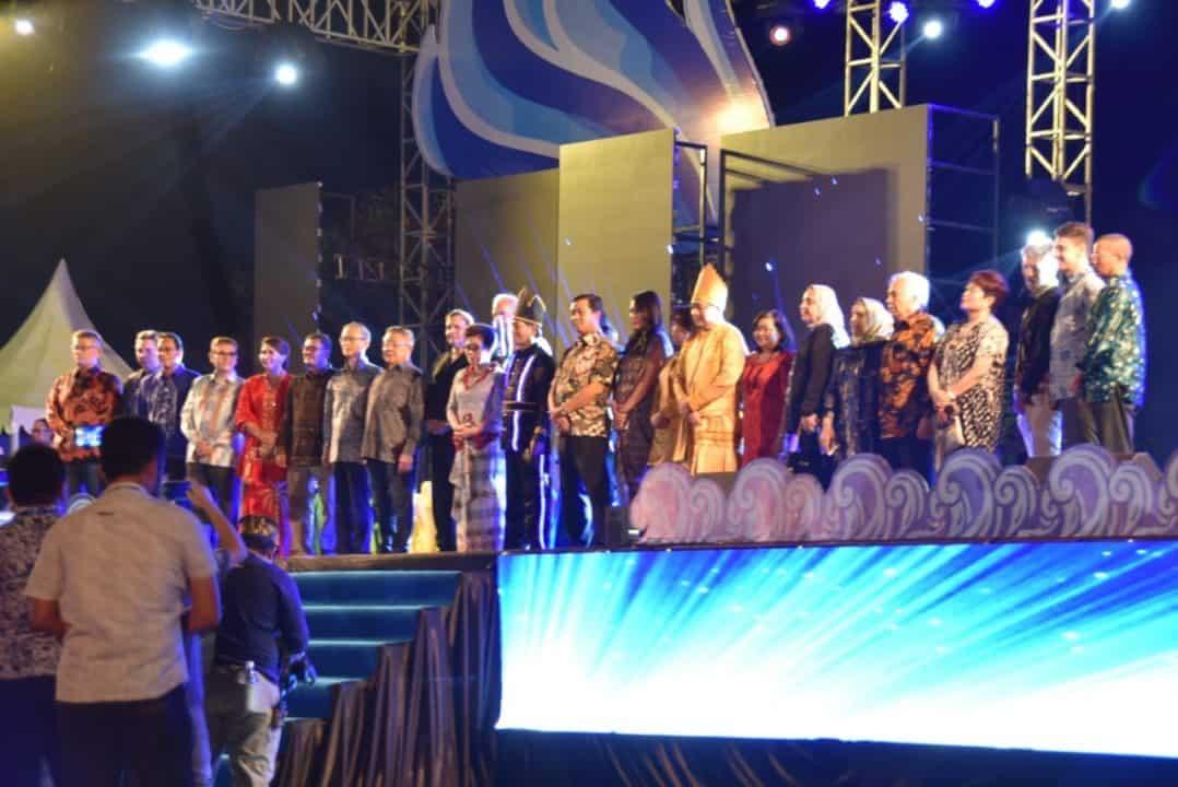 Komandan Lanud Sam Ratulangi Hadiri Pembukaan Manado Fiesta Tahun 2019