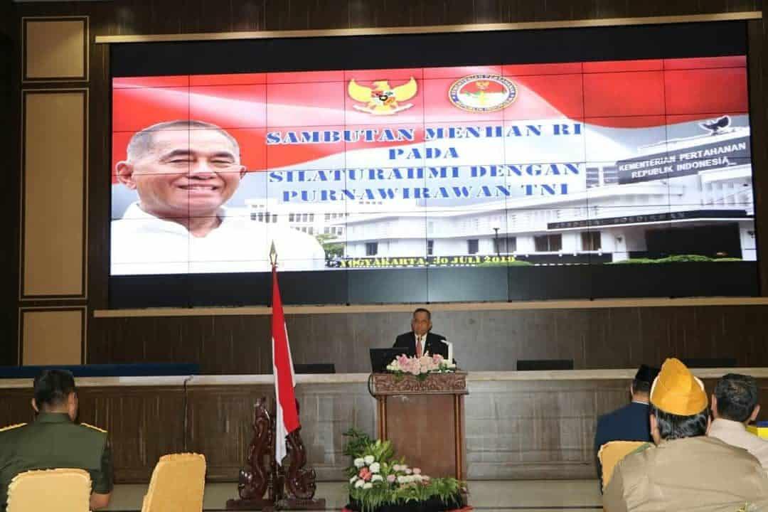 Danlanud Adisutjipto Sambut Kunjungan Kerja Menhan Ri Di Yogyakarta