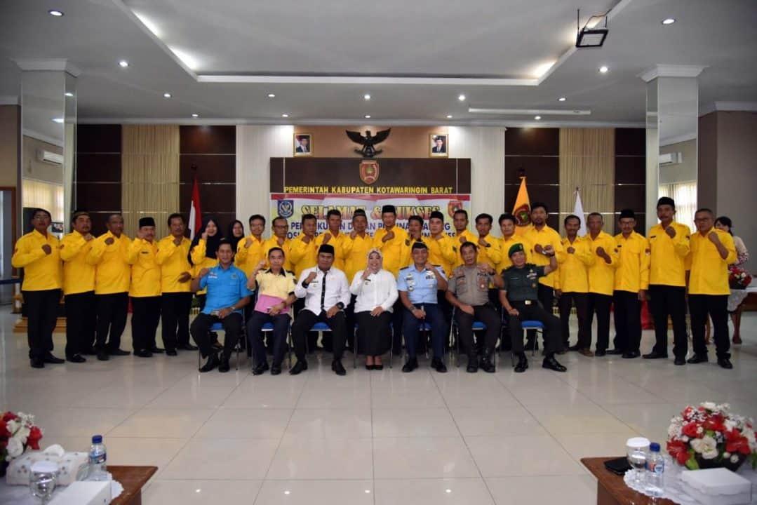 Komandan Lanud Iskandar Hadiri Pengukuhan Dpc Apdesi