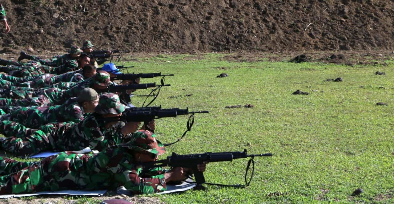 Asah Kemampuan Prajurit, Lanud Sim Latihan Menembak Triwulan Iii