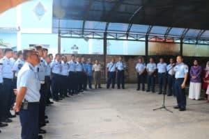Danlanud Dhomber Resmikan Dhomber Airforce Corner
