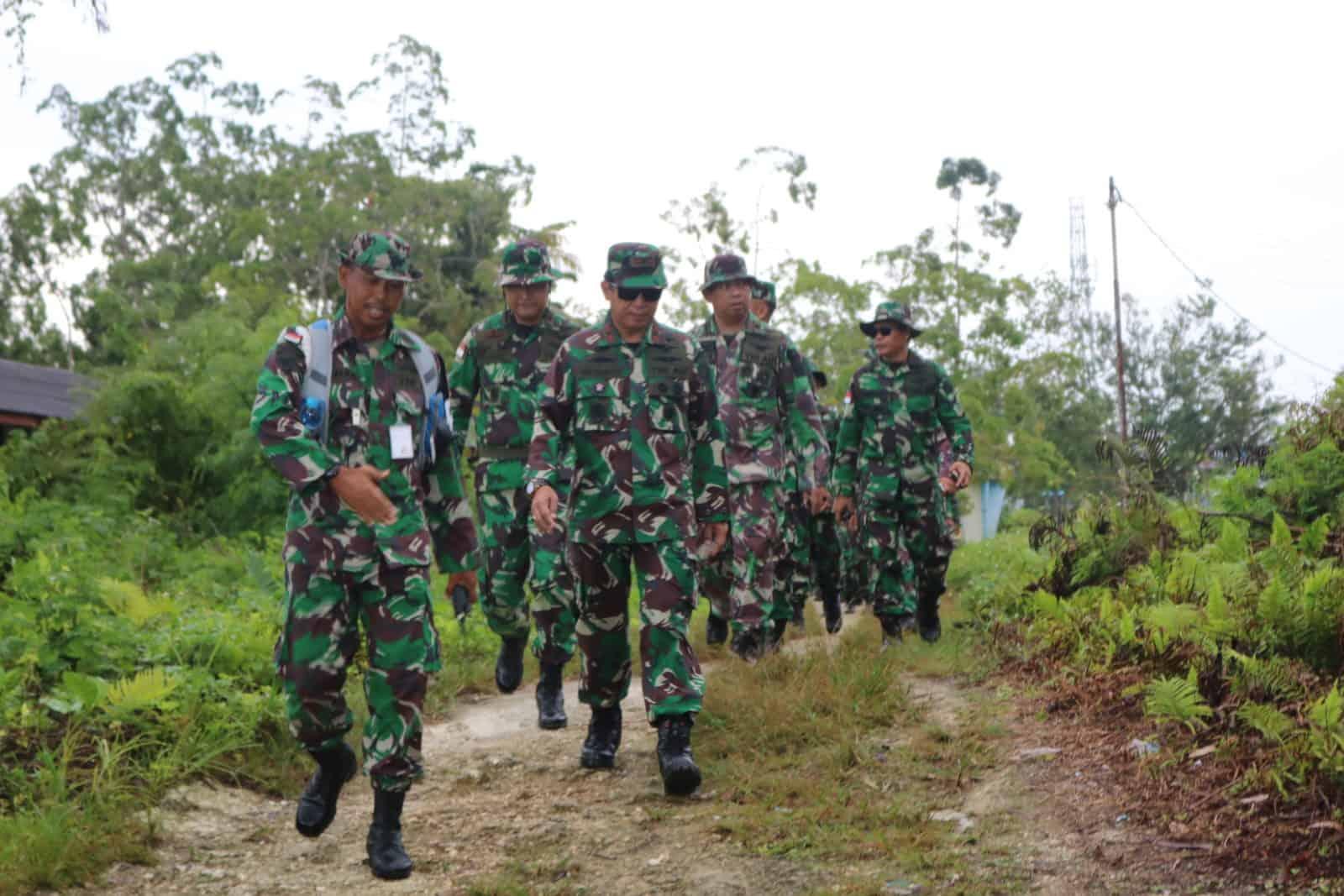 Kosekhanudnas IV Laksanakan Lintas Medan