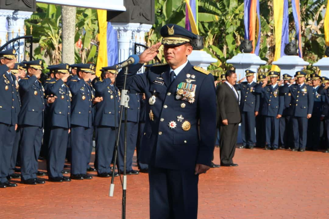Kasau Pimpin Ziarah Dalam Rangka Hari Bakti Ke-72 Di Monumen Perjuangan Tni Au