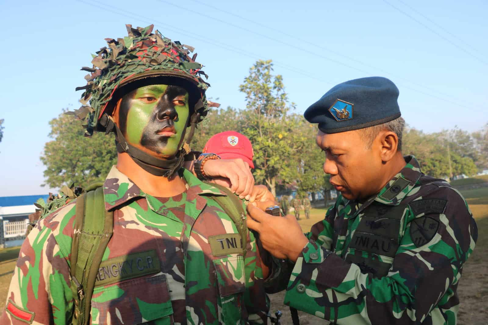 Komandan Lanud Sulaiman Buka Lattis Siswa Paskhas Skadik 204 Lanud Sulaiman