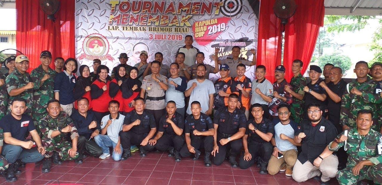 Hari Bhayangkara Ke 73 Tim Menembak Andalan Lanud Rsn Sabet Juara Ii Dan Iii