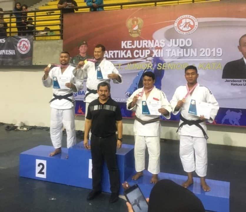 Judoka Pomau Raih Juara 3 Kejurnas Kartika Cup 2019