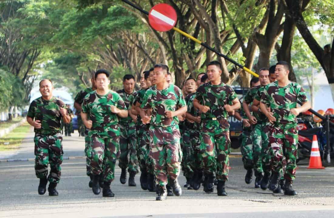 Minggu Militer, Lanud Sim Lari Bersama