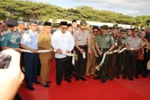 Danlanud Sim Hadiri Pembukaan Aceh Police Expo 3