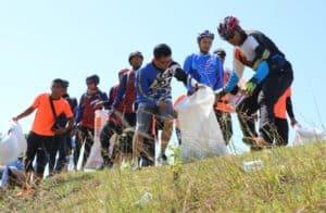 Lanud Sim Peduli Lingkungan Bersih Dari Sampah