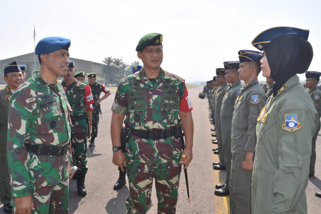 Apel Pemeriksaan Kesiapan Operasi Pprc Tni Tahun 2019 Di Lanud Abdurahman Saleh