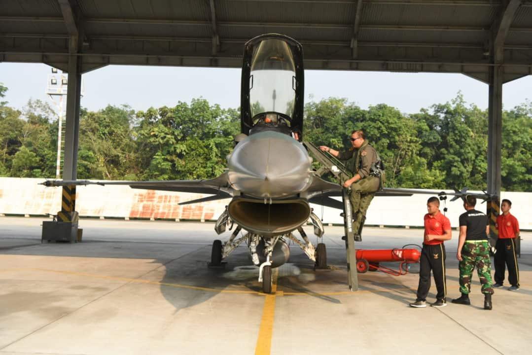 Rydder Flight Skadud 16 Kerahkan 5 Pesawat F16 Ke Thailand