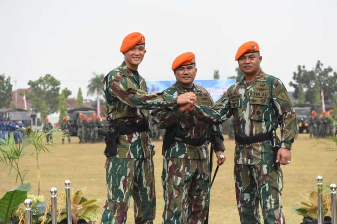 Danwing Iii Paskhas Pimpin Serah Terima Jabatan Danyonko 462 Paskhas