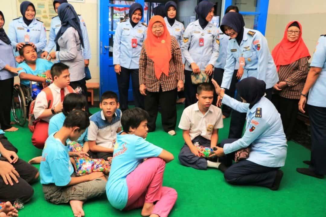 Wara Lanud Abdulrachman Saleh Anjangsana Ke Ypac Kota Malang