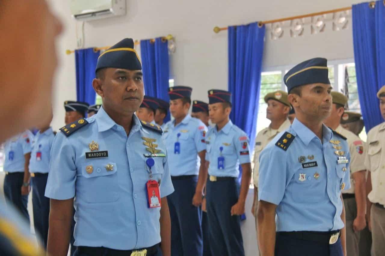 """""""tongkat Estafet"""" Kepala Dinas Operasi Lanud Raja Haji Fisabilillah Resmi Diserahterimakan"""