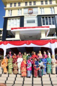 Deru Paramotor Sumbar Turut Memeriahkan Hut Bhayangkara Ke-73 Di Tanah Minang