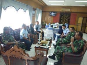 Komandan Lanud Sutan Sjahrir Sambut Kafilah Selesai Ikuti Lomba Mtq Tingkat Koopsau I