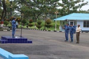 Kadislog Lanud Sutan Sjahrir Pimpin Upacara Bendera 17 An