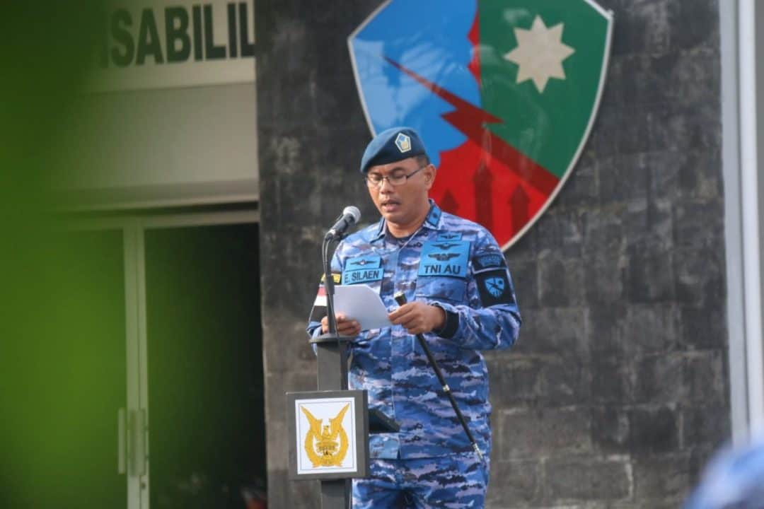 Danlanud Rhf Bacakan Amanat Panglima Tni Pada Upacara Bendera 17an Bulan Juli 2019