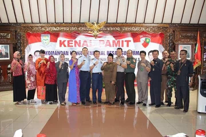 Keluarga Besar Lanud J.b. Soedirman Melaksanakan Acara Pisah Sambut Komandan Lanud J.b. Soedirman