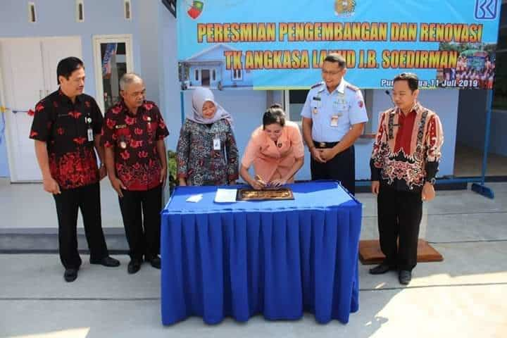 Peresmian Pengembangan Dan Renovasi Tk Angkasa Lanud J.b. Soedirman
