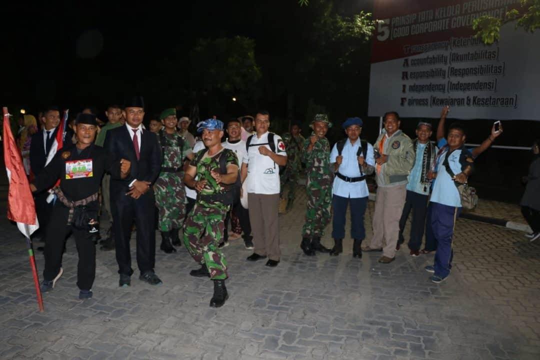 Prajurit Lanud Sutan Sjahrir Berpartisipasi Dalam Napak Tilas Ke-xv Bagindo Aziz Chan