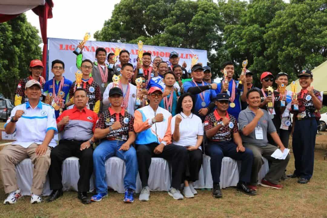 Kapordirga Aeromodelling Pb Fasi Tutup Lomba Nasional Aeromodeling Tahun 2019 Di Lanud J.b. Soedirman