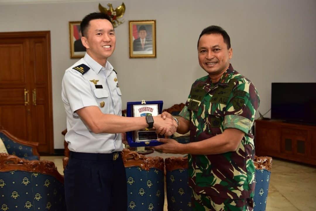 Senior Excange Visit Rsaf Ke Lanud Halim Perdanakusuma