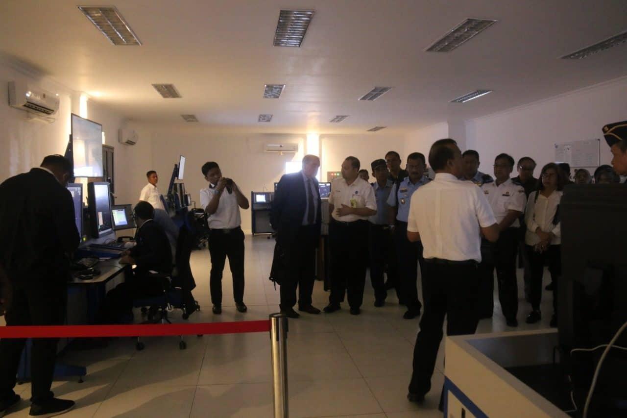 Danlanud Rhf Sambut Kunjungan Kerja Pejabat Kemenkomaritim Dan Kohanudnas Ke Tanjungpinang