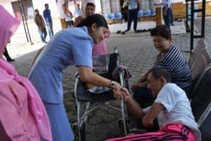 Peringati Hari Bakti Tni Au Ke-72, Lanud Rhf Berbagi Kebahagiaan Di Panti Jompo